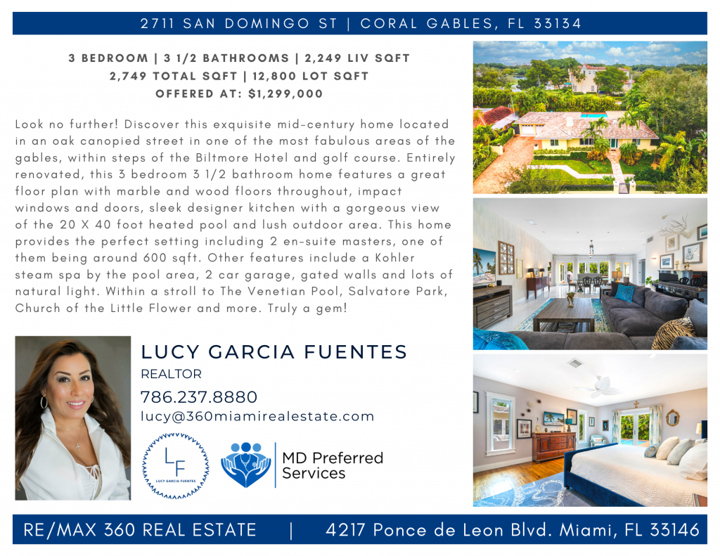 2711 San Domingo St _ CORAL GABLES, FL 33134